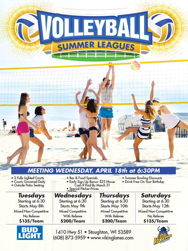 2018 Volleyball Leagues